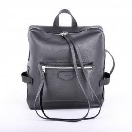 Рюкзак женский из черной кожи Virgo Black