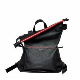 Рюкзак женский Voyager Black red zipper
