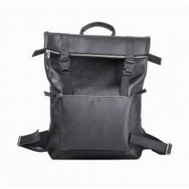 Рюкзак мужской из гладкой кожи Desert Black