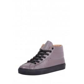 Кожаные ботинки Retro Dark grey