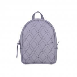 Женский рюкзак с плетением Archer Grey в серой коже
