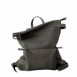 Рюкзак  женский из темно-серой кожи Voyager Dark Grey