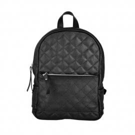Рюкзак женский из черной кожи Caspia Black