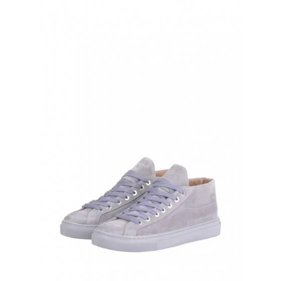 Замшевые ботинки Retro 2 Grey