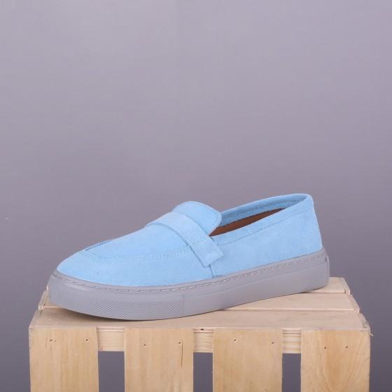 Замшевые Loafers Aqua