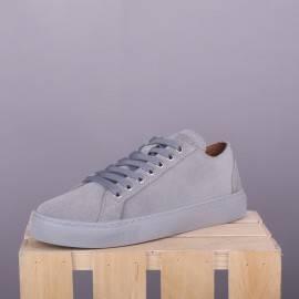 Замшевые сникерсы Classic Grey