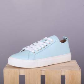 Сникерсы Jizuz Classic Aqua Leather
