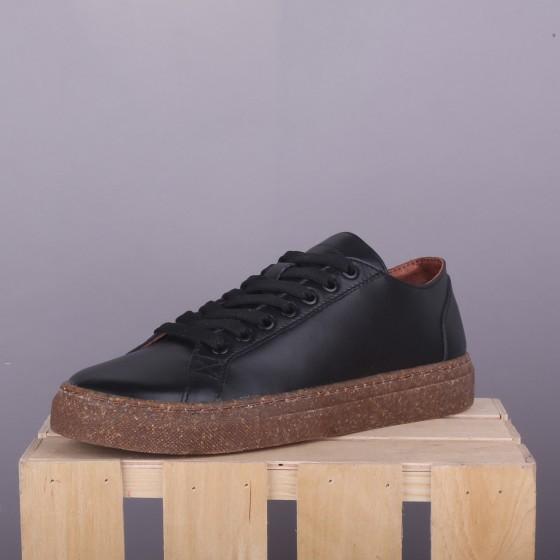Сникерсы Jizuz Classic Black Leather