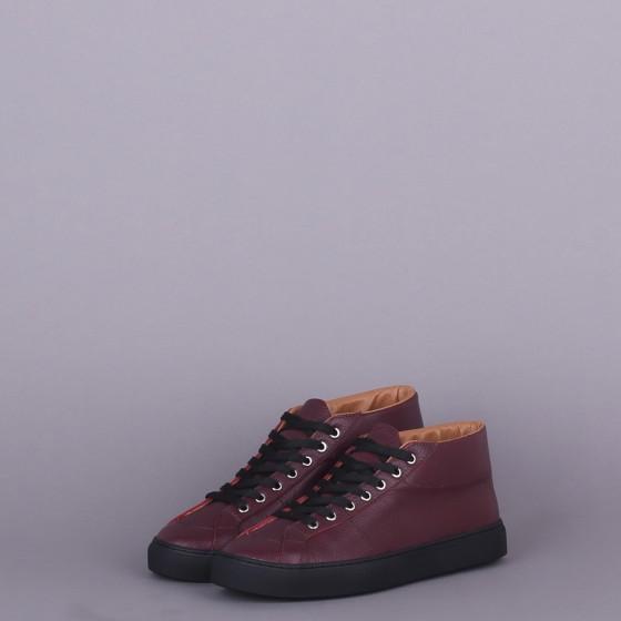 Кожаные ботинки Retro 2 White