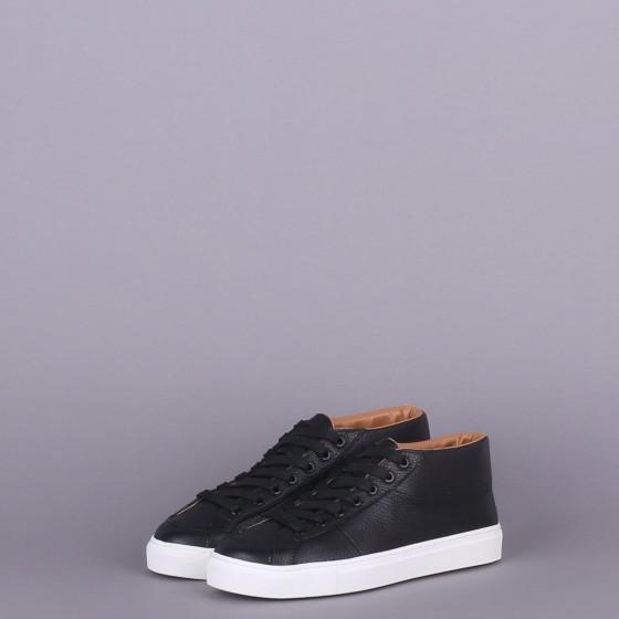 Кожаные ботинки Retro 2 Black