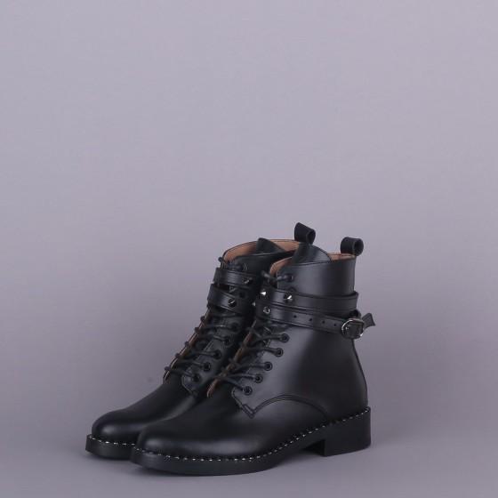 Кожаные ботинки Boots Black