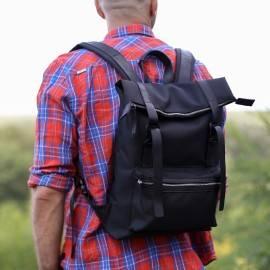 Рюкзак мужской из кордуры Desert Black Cordura
