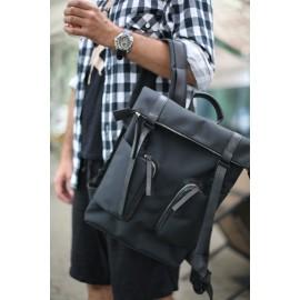 Мужской рюкзак из кордуры MOTTO Black Cordura