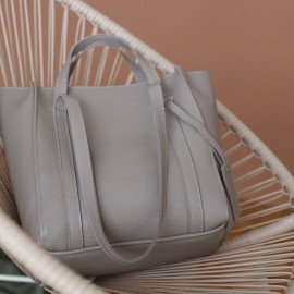 Mark Maxi beige Shopper на молнии