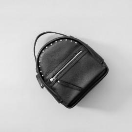 Рюкзак женский из черной кожи Fiji Black