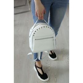 Рюкзак женский в белой коже Fiji White