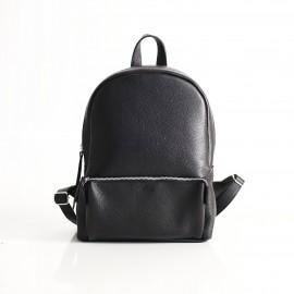 Рюкзак женский кожаный Pilot Black