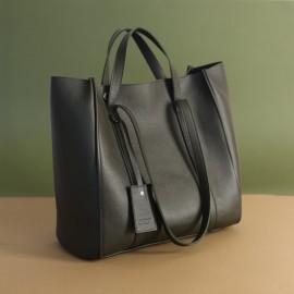 Женская сумка из оливковой кожи Mark Maxi olive