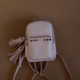 Рюкзак женский из пудровой кожи Scotty