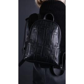 Рюкзак Pilot S Black Couture из гладкой кожи