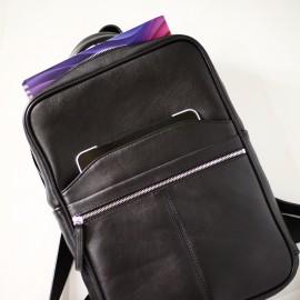 Рюкзак для ноутбука 15 дюймов  кожаный В1