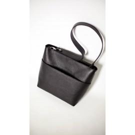 Женская сумка из черной кожи Marta